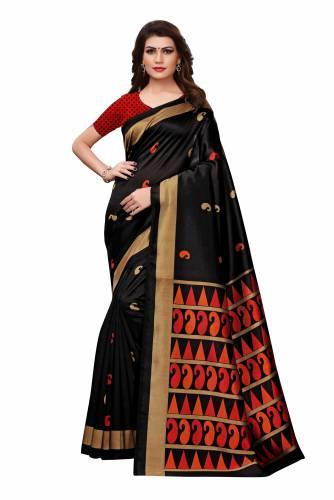 7acfe00af8370 Ashas-Mysore-Silk-Printed-Saree details